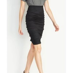 Nicole Miller Atelier Ruched Skirt